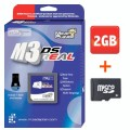 m3 ds real rumble pack with 2 gig microsd