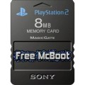 PS2 Free McBoot Memory Card